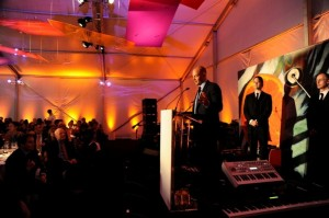 Alex von Furstenberg accepts The Whitney Museum's 2010 American Art Award